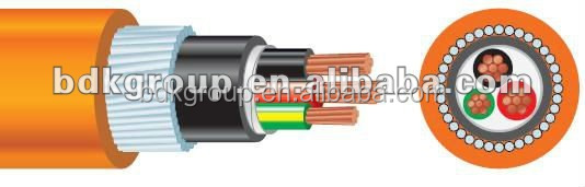 copper cable prices 300mm2 0.6/1kV Armoured XLPE insulation