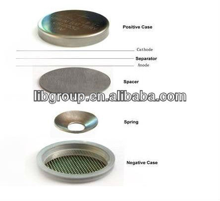 coin cell button cell can SPCC-BT-SB coin battery button battery