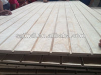 slotted construction plywood for construction