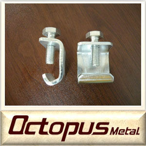 Octopus flange g-clamp / duct fitting/HAVC duct system g clamp
