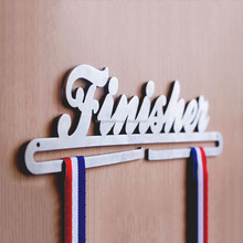 Stainless Steel Iron Medal Hanger in Metal Crafts Medal Hanger Race Bib