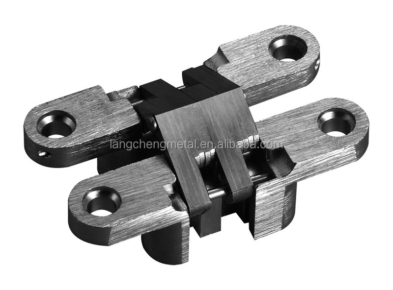 60MM 180 degree heavy duty concealed cross hinges