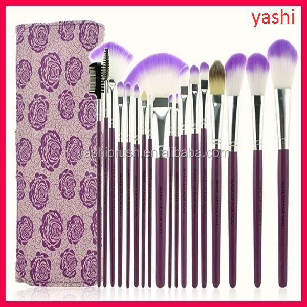 NEW Design 18pcs hot sale makeup brush set free sample