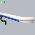 Anti-collision soft barrier free handrail for elderly