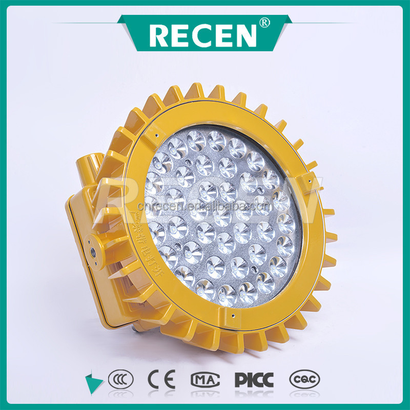 CE CQC China factory New design product IP66 50/70/100W high power LED light explosion proof floodlight