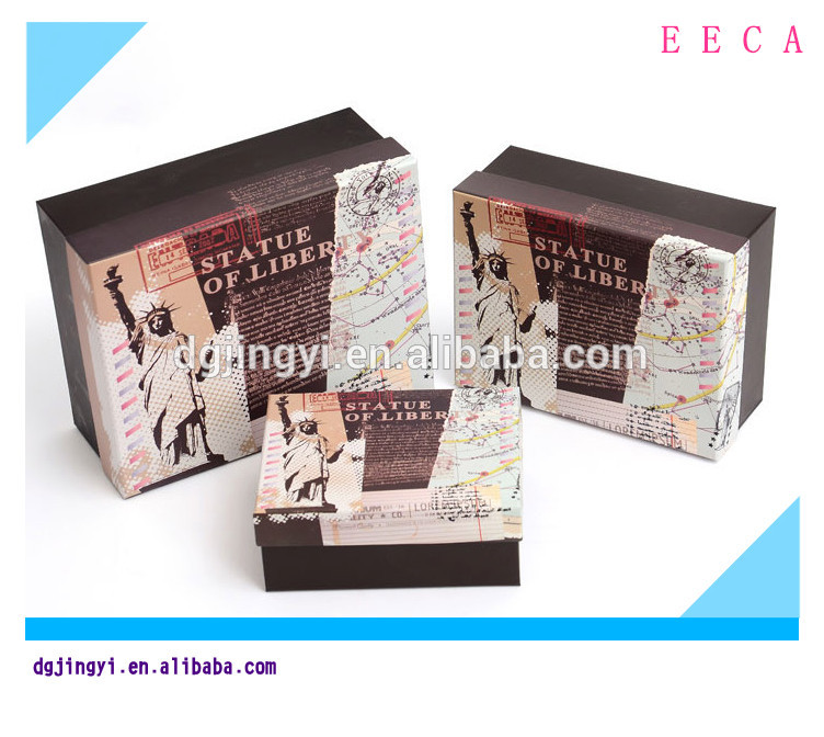 newly style custom cardboard printing paper box packaging