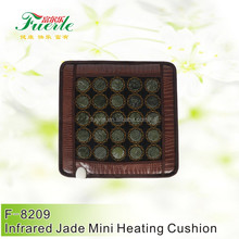Hot jade heat therapy products mini heating mattress 25 pieces jade stone 50*50cm