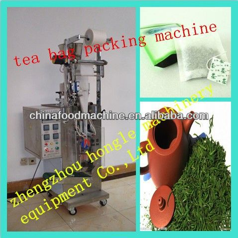 New Factory Inner and Outer Tea Bags Packing Machine Filling Bag Sealing Thread Affixing Labelling External Bag Heat Sealing