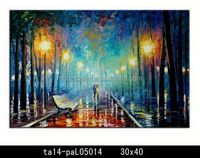 Home decor wholesale beautiful scenery oil painting hanger wall art