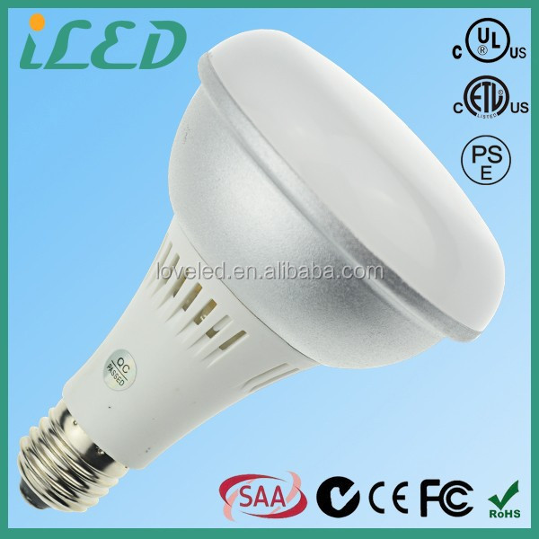 85W LED Replacement 9W R30 LED Recessed Flood Light Bulbs E27 COB LED BR30 Dimmable