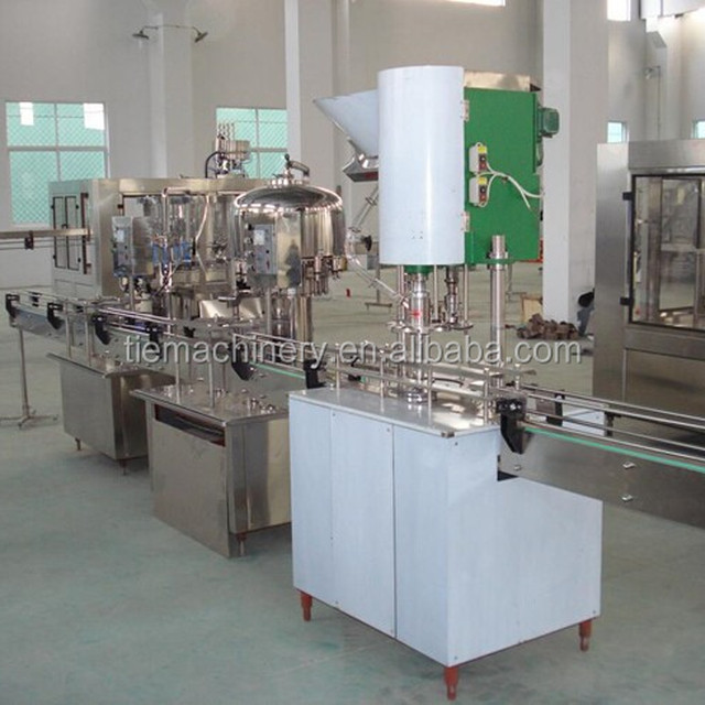 Water/ yoghourt/ liquor/Stainess steel linear type water filling machine