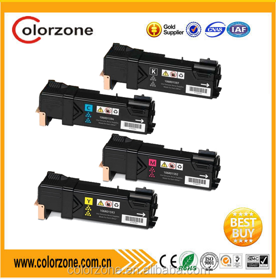Colorful one set 4pcs compatible Xerox 106R01597 laser toner cartridge for Xerox 6505 6500