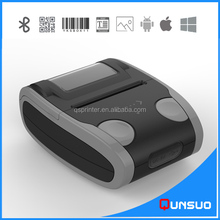 Portable Mini Wireless 58mm Thermal Printer Bluetooth POS Printer for Android iOS
