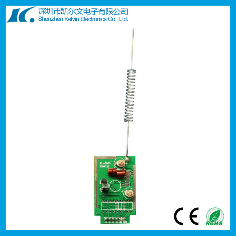 433MHZ RF wireless module Fixed Code Receiver Sensitivity Encodable Transmitter Board KL3000