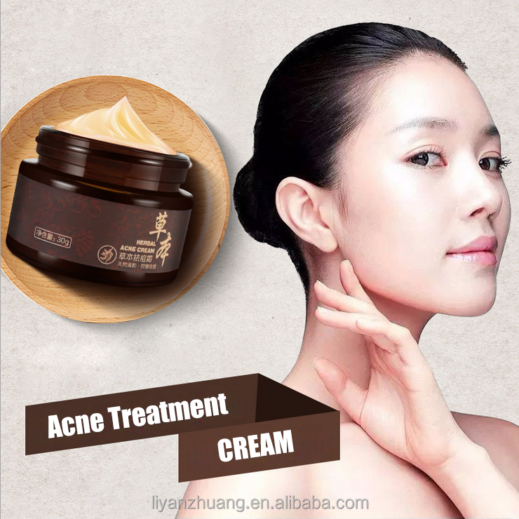 Best Green Tea Anti Acne Cream Face Acne Treatment Pimple Removal Skin Care Cream
