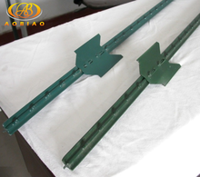 China suppliers used removable farm fence metal t bar fencing posts