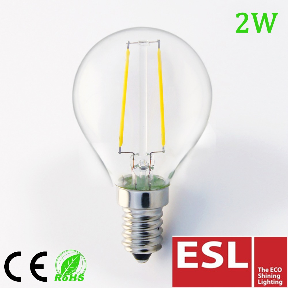 2016 new design energy saving g45 3w e27 led light bulb
