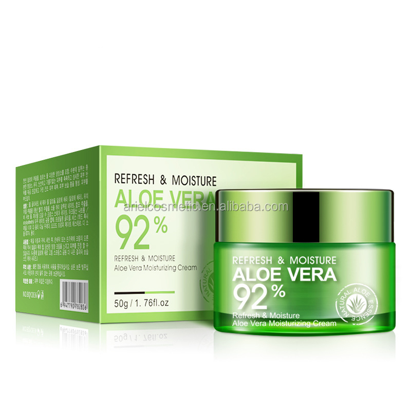 Customized private logo aloe vera skin whitening night cream