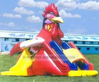 Classic design professional inflatable turkey slide