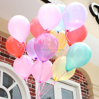 9 inch latex round wedding decorative balloon