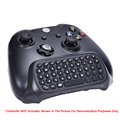 OEM Wirleless QWERTY Keyboard With Headset/Audio Jack For XBOX One Controller