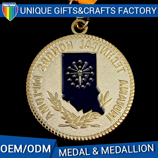 High quality OEM custom blank metal medal blanks