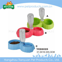 High quality dog feeding novelty rubber dog bowl