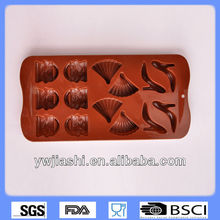 high-heeled shoes set Silicone DIY mold for chocolate