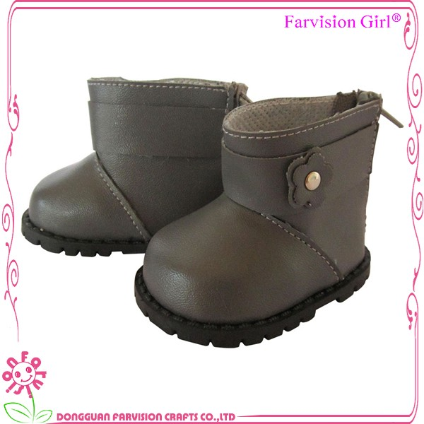 Safe material toy shoes for Dolls, snow boot for winter