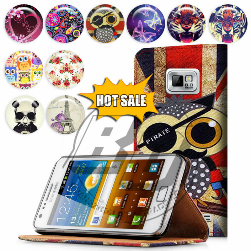 For Samsung Galaxy S3 I9300 Case Print Card Holder Flip PU Folio Wallet Book Style Leather Case Cover Mobile Phone Csaes
