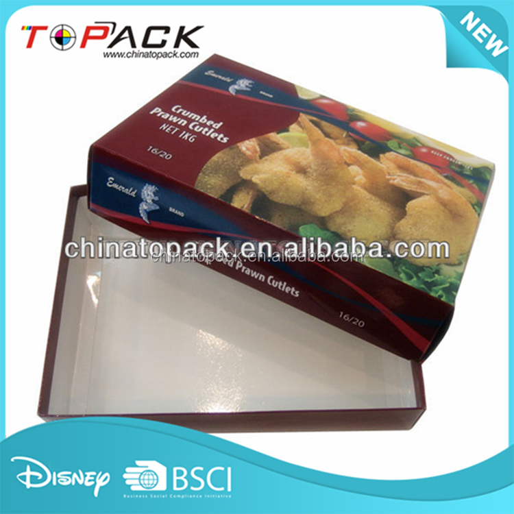 New selling food paper pulp box manufacturer packaging