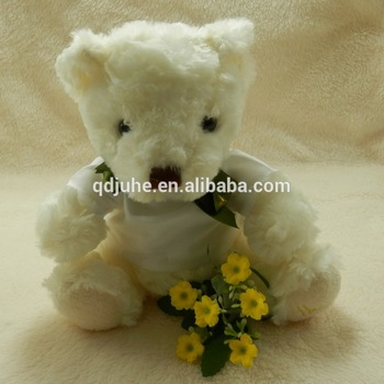 Cute baby Best stuffed best made toys plush bear stuffed animals for promotion