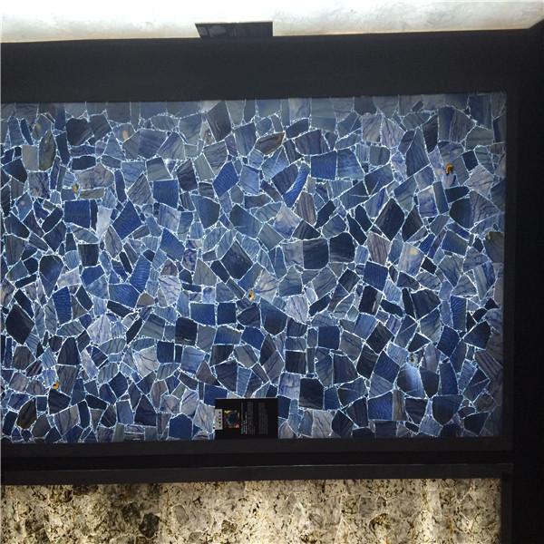 Natural Lapis Lazuli Gemstone Slabs Blue Semi Precious