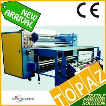 Korea Roll Heat Press Machine - Oil Type (180cm width, 60cm dia drum)