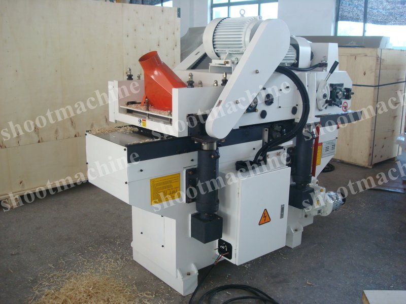 Auto Double Side Planer SHMB204E with Max.workpiece width 400mm and Max.workpiece thickness 120mm