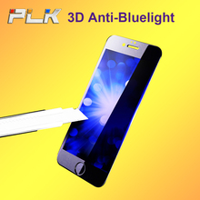 Factory Price !! Anti-scratch Japan Blue Film Anti Blue Light Tempered Glass Screen Protector For iPhone 7@
