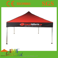 Heavy duty Pop up Promotional folding display full color printing gazebo tent