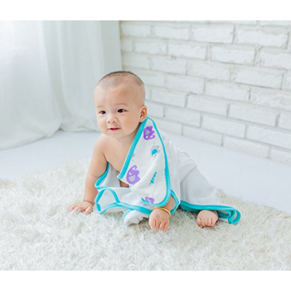 Hot Selling Amazon Natural Customized Baby Blanket