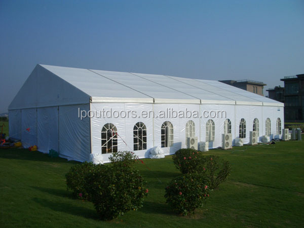 10 x 30 m White Party Tent Gazebo Canopy with Sidewalls