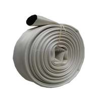 4inch pvc line braided canvas fire hose