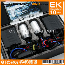 Hottest sale! H1 2013 EK real factory price auto headlights HID xenon kit slim ballast DC/AC 35W 55W 12v