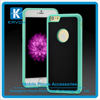 [kayoh] New design for iphone 6 anti gravity case TPU + PC Anti-Gravity Selfie Sticky Case Cover For iPhone 5 5s 6 6s 6