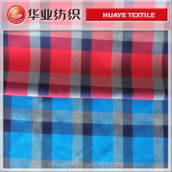 100%cotton yarn dyed grey color melange fabric for shirt