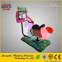 kiddie ride 3D horse racing game machine for sale mall, swing horse with video game for sale