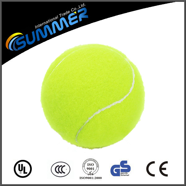 Manufacturer customized logo cheap high quality custom tennis ball for competition