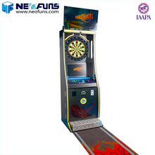 good quality coin operated electronic arcade dart board game machine for sale