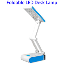 Wholesale Foldable LED-688 Rechargeable Battery-Operated Dimmable LED Reading Table Desk Lamp