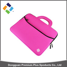 Mass supply durable custom neoprene laptop sleeve bag cover with handle