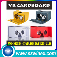 Professional design 3D Virtual Reality VR Video Glasses Google Cardboard 3D Movie 3D Game Google Earth