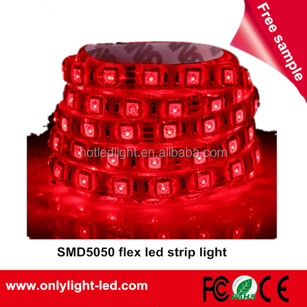 high quality led strip light 12v for jewelry store showcase and counter